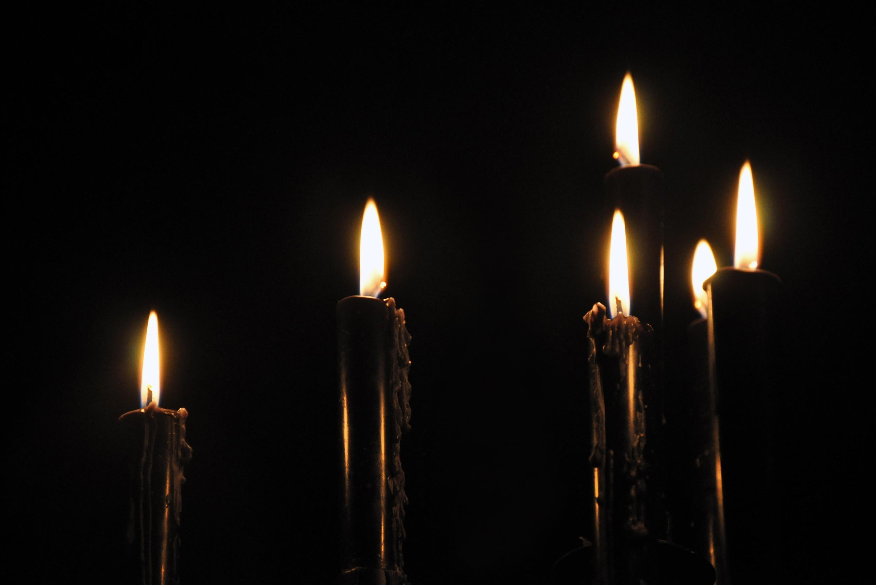 Как сделать черную свечу магия фото 485